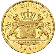 1 ducat Maximilian II – revers