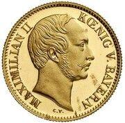 1 ducat Maximilian II (Goldkronach-Dukat) – avers