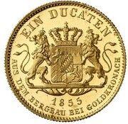 1 ducat Maximilian II (Goldkronach-Dukat) – revers
