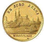 1 ducat Maximilian II (Rheingold-Dukat) – revers