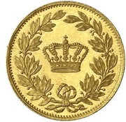 1 Ducat - Ludwig II (Geschenk-Dukat) – revers