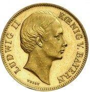 1 Krone - Ludwig II. – avers