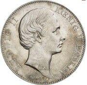 2 Vereinsthaler - Ludwig II – avers