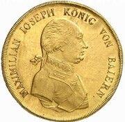 20 ducats  Maximilian I Joseph (Frappe essai en or) – avers