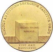 8 Ducats - Maximilian Joseph (Bavarian Constitution - Gold Pattern) – revers