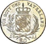 20 Kreuzer - Maximilian IV Joseph – revers