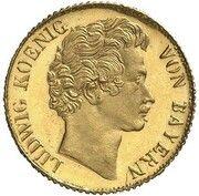 3 Kreuzer - Ludwig I (Gold Pattern) – avers