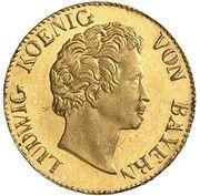 1 Kreuzer - Ludwig I (Gold Pattern) – avers