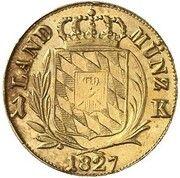 1 Kreuzer - Ludwig I (Gold Pattern) – revers