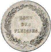 1/2 Thaler - Maximilian I. Josef (Schulpreistaler) – revers