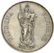 2 Gulden - Maximilian II (Madonna Column Pattern) – revers