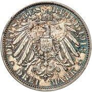 3 Mark - Ludwig III (Essai) – revers