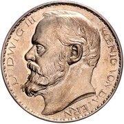 3 Mark - Ludwig III (Essai) – avers