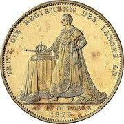 1 Taler - Ludwig I (Geschichtstaler) – revers