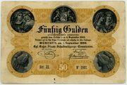 50 Gulden – avers