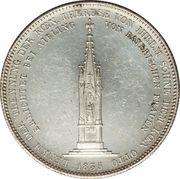 1 thaler - Ludwig I (Monument mère) – revers
