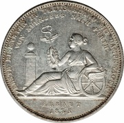 1 Thaler - Ludwig I (First steam railway) – revers