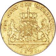 1 Ducat - Maximilian I Joseph – revers