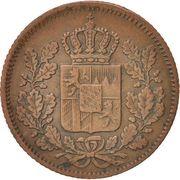 ½ kreuzer - Maximilian II – avers