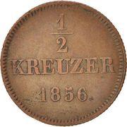 ½ kreuzer - Maximilian II – revers