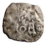1 pfennig Heinrich XVI (Neuötting) – avers