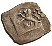 1 pfennig - Georg I – avers