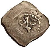 1 pfennig - Georg I – revers