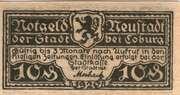 10 Pfennig (Neustadt bei Coburg) – revers