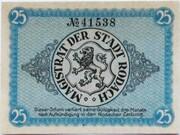 25 Pfennig (Rodach) – revers