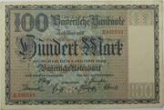 100 Mark (Bayerische Notenbank) – avers