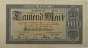 1000 Mark (Bayerische Notenbank) – avers
