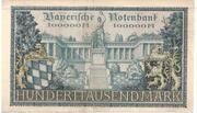 100 000 Mark (Bayerische Notenbank) – revers