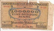 1,000,000 Mark (Bayerische Staatsbank) – avers