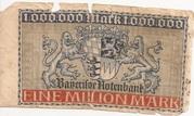 1,000,000 Mark (Bayerische Staatsbank) – revers