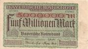 5,000,000 Mark (Bayerische Notenbank) – avers