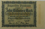 10,000,000 Mark (Bayerische Notenbank) – avers
