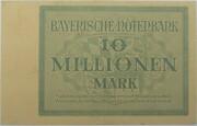 10,000,000 Mark (Bayerische Notenbank) – revers