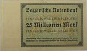 25,000,000 Mark (Bayerische Notenbank) – revers