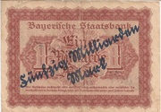 50,000,000,000 Mark (Bayerische Staatsbank) – revers