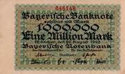 1,000,000 Mark (Bayerische Notenbank) – avers