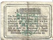 10 Pfennig (Homburg) – revers