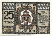 25 Pfennig (Neuötting) – avers