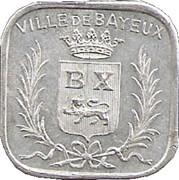 5 Centimes - Union Commerciale et Industrielle - Bayeux [14] – avers
