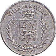 25 centimes - Union Commerciale et Industrielle - Bayeux [14] – avers