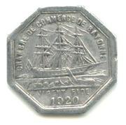 25 centimes - Chambre de Commerce - Bayonne [64] – avers