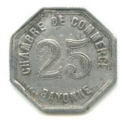 25 centimes - Chambre de Commerce - Bayonne [64] – revers
