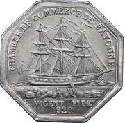 50 centimes - Chambre de Commerce - Bayonne [64] – avers