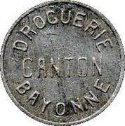 10 Centimes - Droguerie Canton - Bayonne [64] – avers
