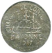 10 centimes - Chambre de Commerce 1917 - Bayonne [64] – avers