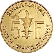 5 francs -  avers